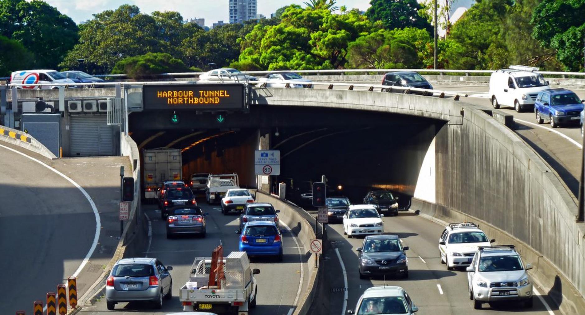 Sydney harbour tunnel rebroadcast major system upgrade