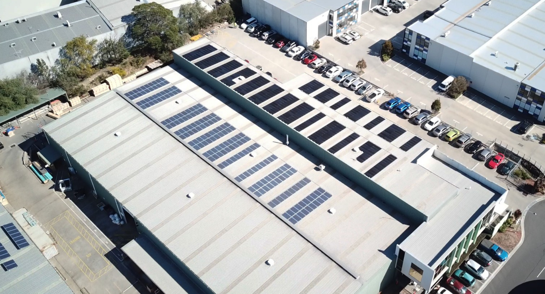 RFI installs 100kW system on largest manufacturing facility